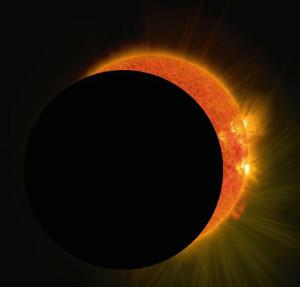Eclipse du soleil