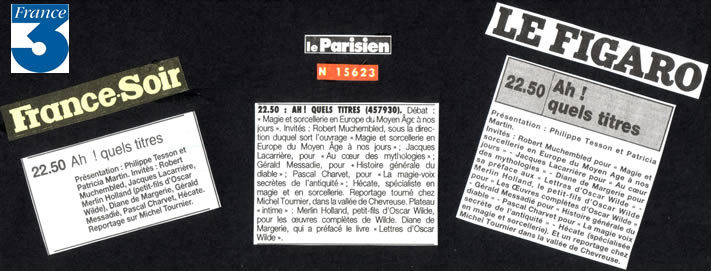 France 3 - 26 novembre 1994
