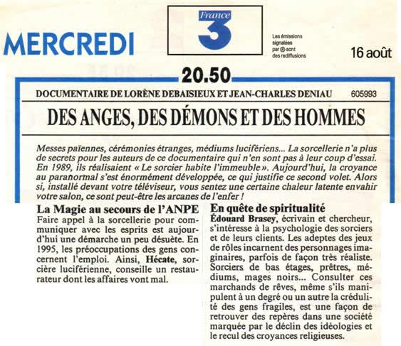 France 3 - 16 août 1995