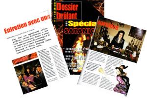 Dossier Brûlant - Mars/Avril 1999