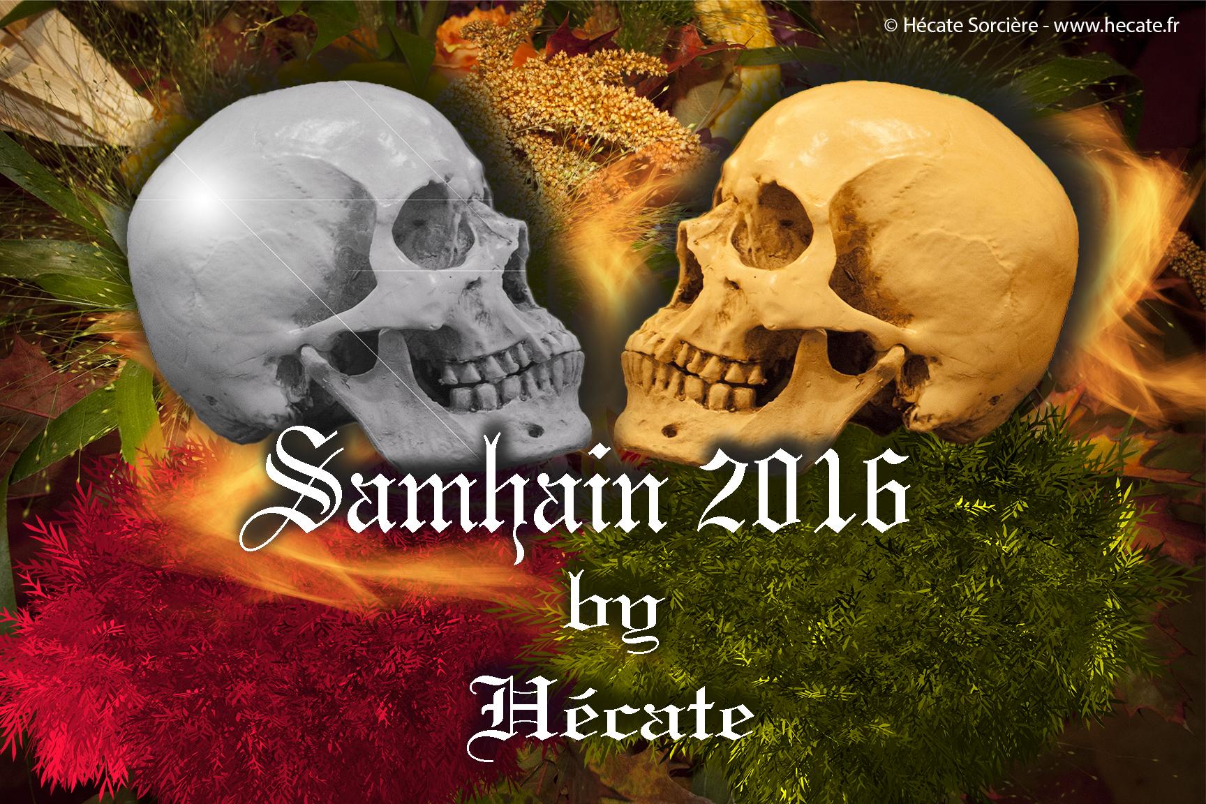 Bonne célébration de Samhain