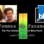 France Bleu Paris - Femmes de Paname du lundi 7 novembre 2016