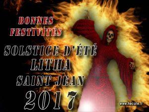 Litha - Solstice d'Été - Saint Jean - Bonnes célébrations